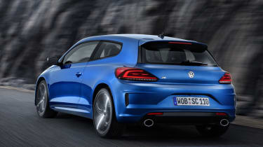 VW Scirocco R 2014 rear