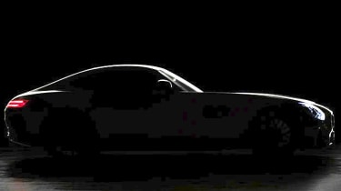 Mercedes AMG GT Coupe teased