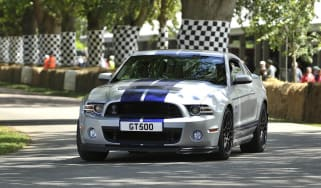 Shelby GT500 debuts at 2012 Goodwood Festival of Speed