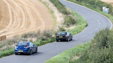 VXR8 GTS-R vs Carlton - rears