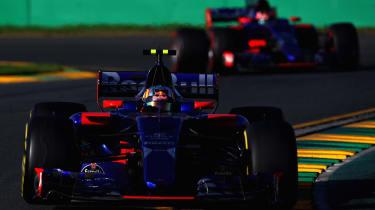 Toro Rosso front again