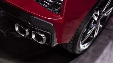 2020 Chevrolet Corvette C8 exhaust