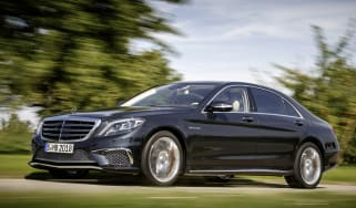 Mercedes S65 AMG front driving