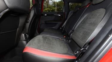 2017 MINI Countryman JCW - rear seats