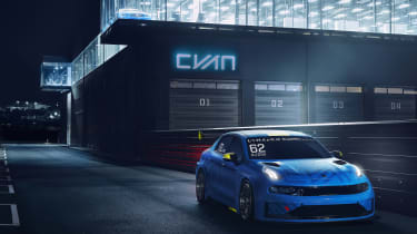 Lynk & Co 03 TCR - front