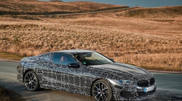 BMW 8-series prototype review - static