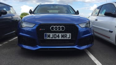 Bedford track evening - RS6