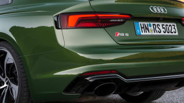 Audi RS5 - rear detail