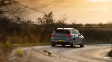 Volkswagen Golf GTI Clubsport - rear sunset