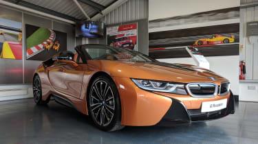 evo Trackday Bedford 27AUG - BMW i8 Roadster
