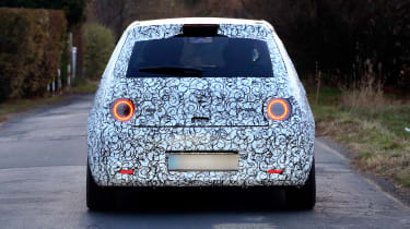 Honda Urban EV spy - rear