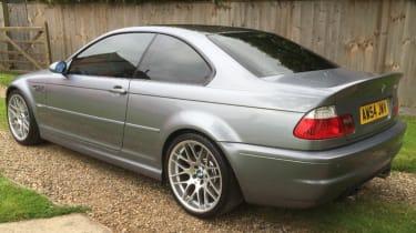 BMW M3 CSL – rear quarter