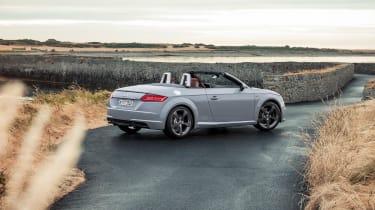 Audi TT facelift - rear quarter