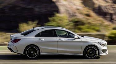 2013 Mercedes-Benz CLA250 side profile