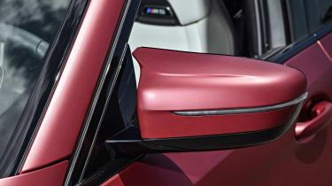BMW M5 F90 - Plum matte wing mirror