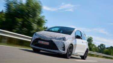 Toyota Yaris GRMN - front tracking