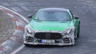 Mercedes-AMG GT R spy 2018 - front