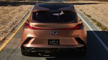 Lexus LF-1 Limitless - rear