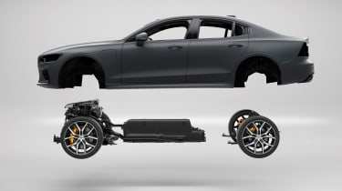 Best hybrid cars 2021 - Polestar 1 powertrain