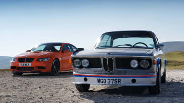 BMW 3.0 CSL front static