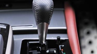 2012 Lexus GS450h F Sport gearstick