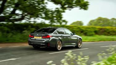 BMW M5 CS – rear quarter