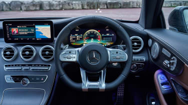Mercedes-AMG C43 Coupe 2018 review - wheel