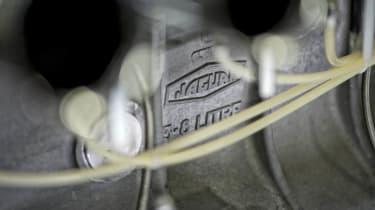 Lightweight Jaguar E-type production resumes - engine