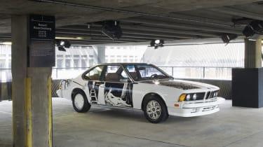 BMW 635 CSi by Robert Rauschenberg