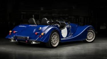 Morgan Plus 8 50th Anniversary Edition –  rear quarter