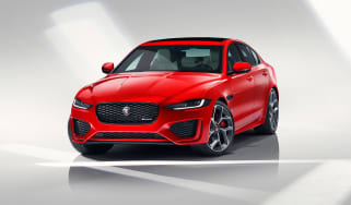 Jaguar XE facelift - nose