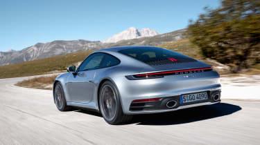 Porsche 992 911 - rear quarter