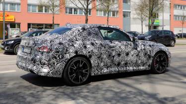 2021 BMW 2-series set 2 spy – rear quarter profile