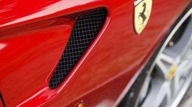 Ferrari 599 HGTE wing detail