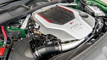 Audi RS5 – engine bay