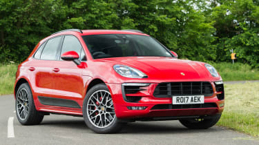 eCoty Porsche Macan GTS - front static