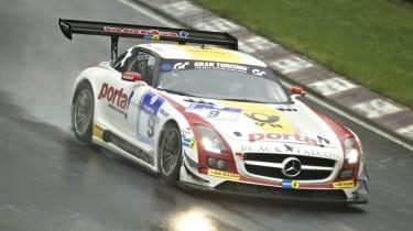 Sean Edwards wins Nurburgring 24 hours Mercedes SLS AMG