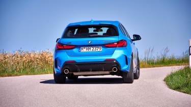BMW M135i review 2019 - rear