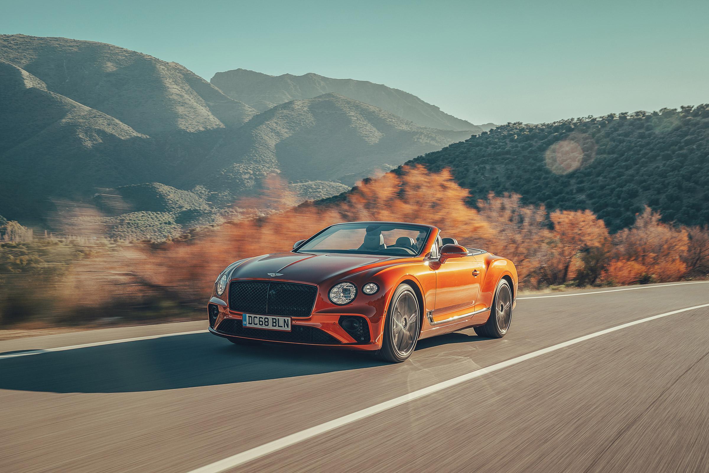 2019 Bentley Continental GT Convertible review - open-air ...