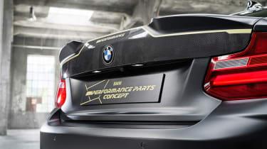 BMW M Performance Parts Concept – boot