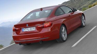 BMW 435i red