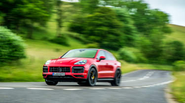 Porsche Cayenne Coupe GTS – cornering