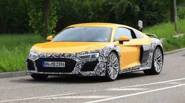Audi R8 facelift - quarter