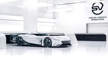 Jaguar Vision Gran Turismo SV Concept - side