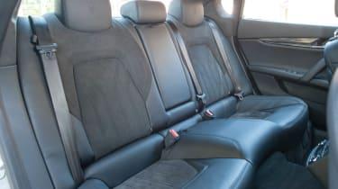 2013 Maserati Quattroporte S V6 rear seats