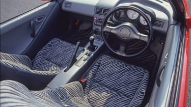 Honda Beat - interior