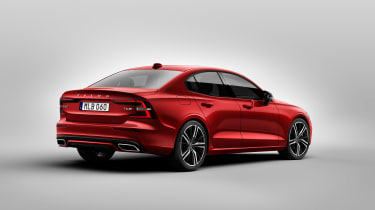 Volvo S60 saloon - rear quarter