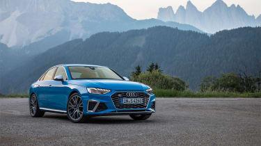 Audi S4 TDI review - front quarter