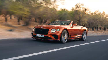 Bentley Continental GT Speed – tracking