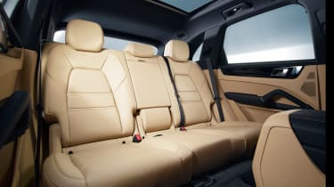 Posche Cayenne - interior rear